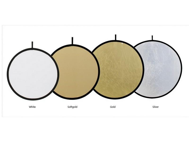 Odrazná deska 100cm EXL, WHITE/SOFT GOLD