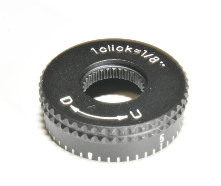 Nikon hlava nastavení vertikální rektifikace nízká (U-D) 1/8MOA Mat