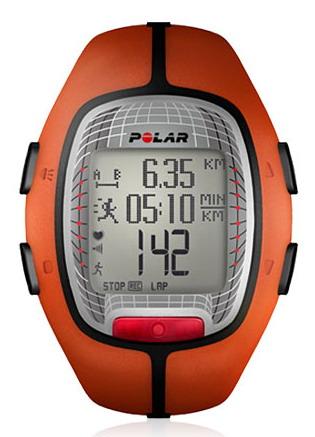 Polar RS300X, oranžová