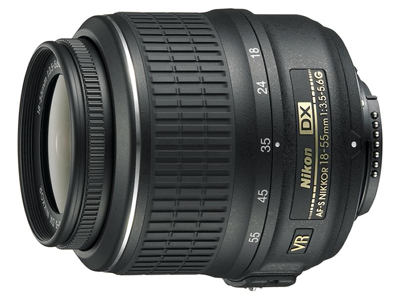 Nikon 18-55mm f/3.5-5.6G EDII AF-S DX VR Zoom-Nikkor (3,0x)
