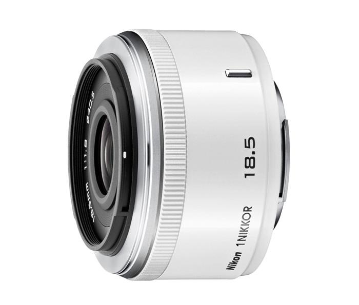 Nikon 1 Nikkor 18.5mm f/1.8 White