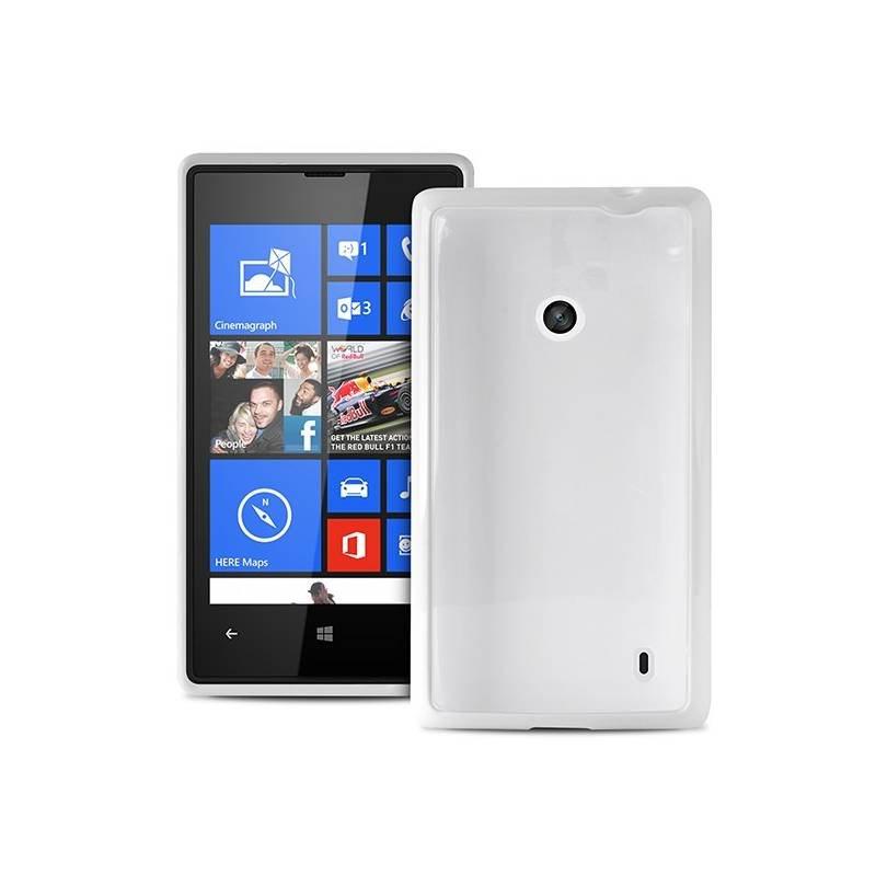 Puro kryt Clear pro Nokia Lumia 520, bílá