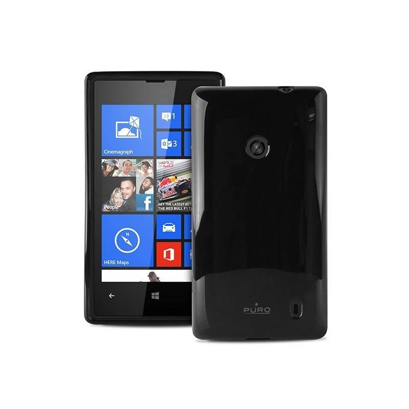 Puro zadní kryt Plasma pro Nokia Lumia 520, černá