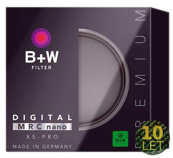 B+W UV XS-PRO DIGTAL MRC nano 72mm