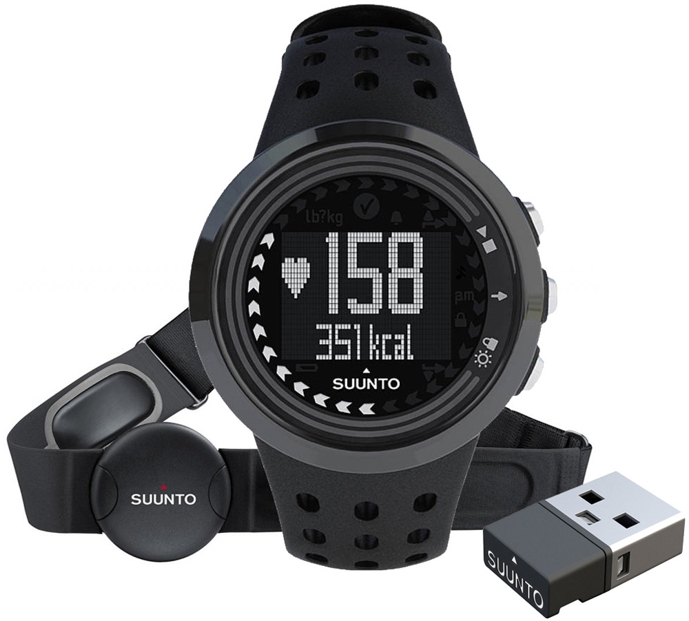 Suunto M5 Men All Black + Movestick Pack