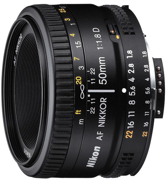 Nikon 50mm f/1.8D AF FX Nikkor