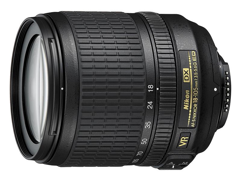 Nikon 18-105MM F3.5-5.6G AF-S DX VR ED