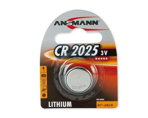 Knoflíková lithiová baterie CR 2025 3V BL1