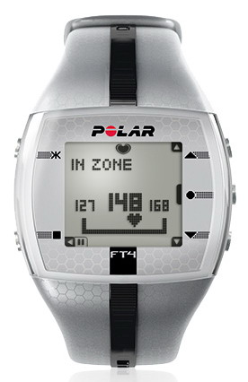 Polar FT4M, sříbrná