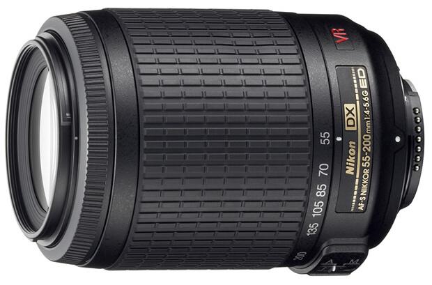 Nikon AF-S VR DX Zoom-Nikkor 55-200mm f/4-5.6G ED (3,6x)
