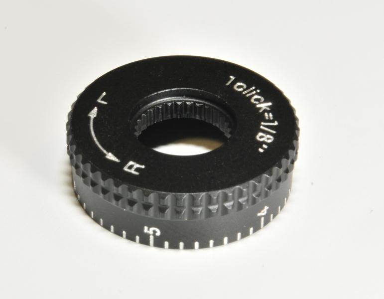 Nikon hlava nastavení horizontalní rektifikace nízká (R-L) 1/8MOA Mat