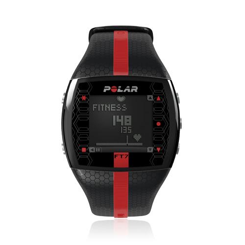 Polar FT7M (pánský), černá, červená