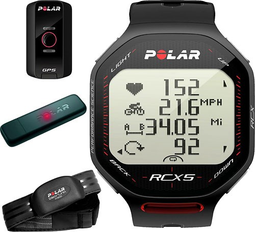 Polar RCX5 Black G5 (MULTI), vč. interface DataLink