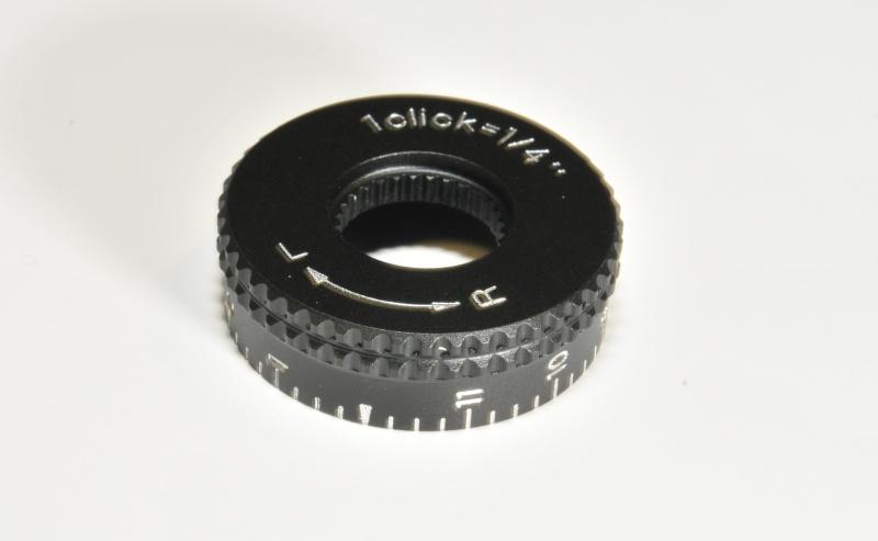 Nikon hlava nastavení horizontalní rektifikace nízká (R-L) 1/4MOA Mat