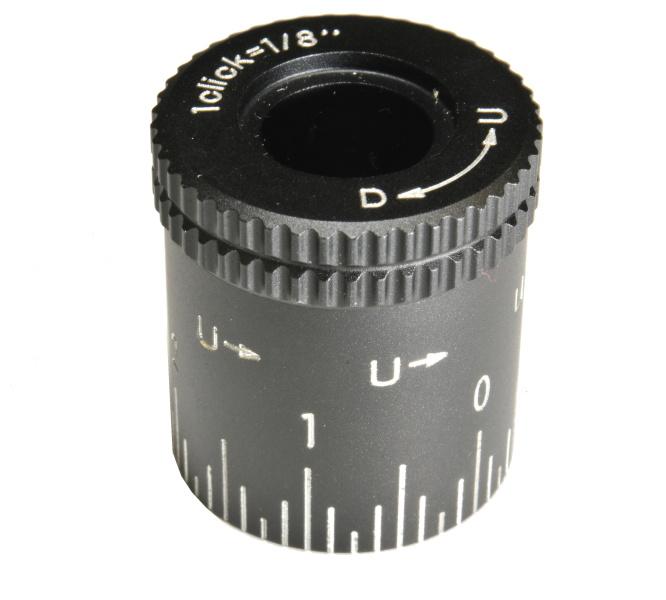Nikon hlava nastavení vertikální rektifikace vysoká (U-D) 1/8MOA
