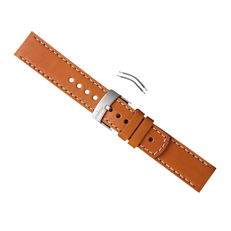 Suunto Elementum brown leather strap