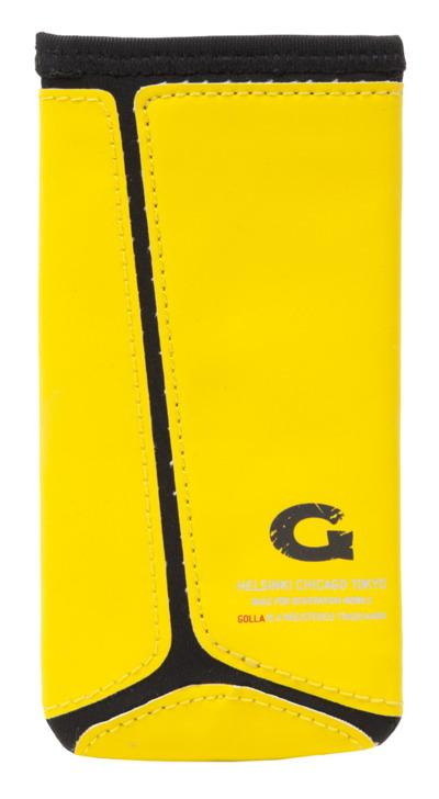 GOLLA neoprénové pouzdro (typ kapsa) pro smartphony, XXL, Reed, žlutá - kolekce 2013