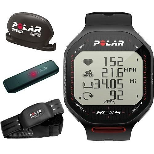 Polar RCX5 Black bike, vč. interface DataLink