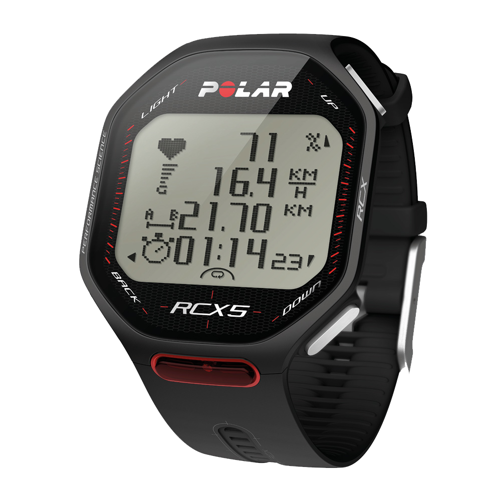 Polar RCX5 Black, vč. interface DataLink