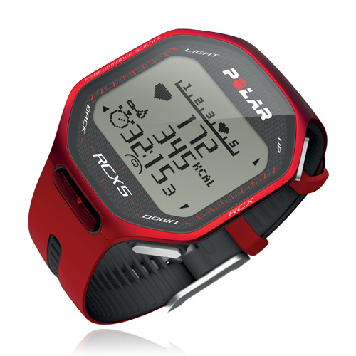 Polar RCX5 Red, vč. interface DataLink