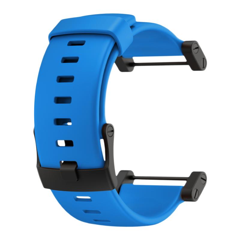 Suunto Core Blue rubber strap sada náramek +osičky a rozeta