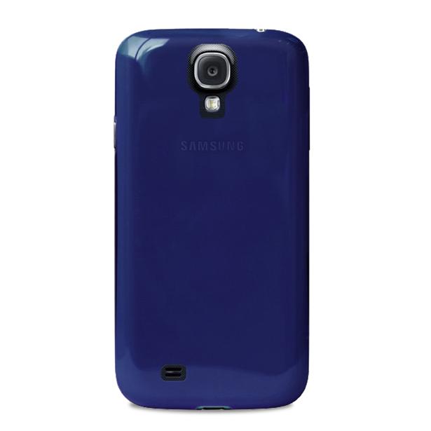 Puro zadní kryt Crystal pro Samsung Galaxy S4 (i9505), modrá