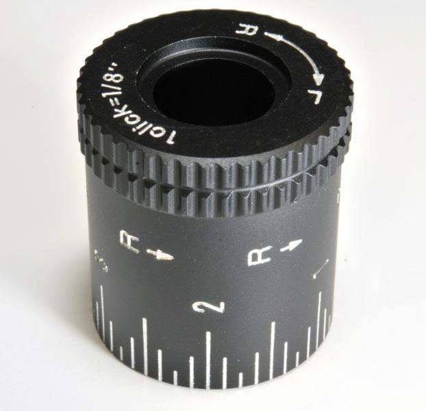 Nikon hlava nastavení horizontalní rektifikace vysoká (R-L) 1/8MOA Mat