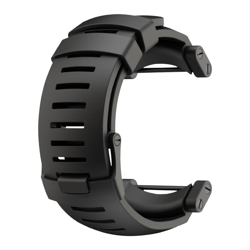 Suunto Core Alu Black rubber strap