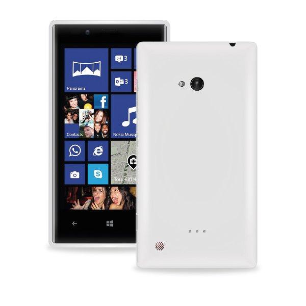 Puro silikonový kryt pro Nokia Lumia 720, transparentní