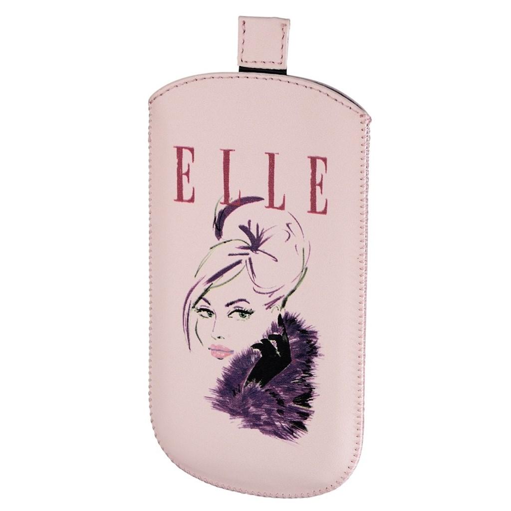 ELLE Lady in pink pouzdro na mobil, velikost L