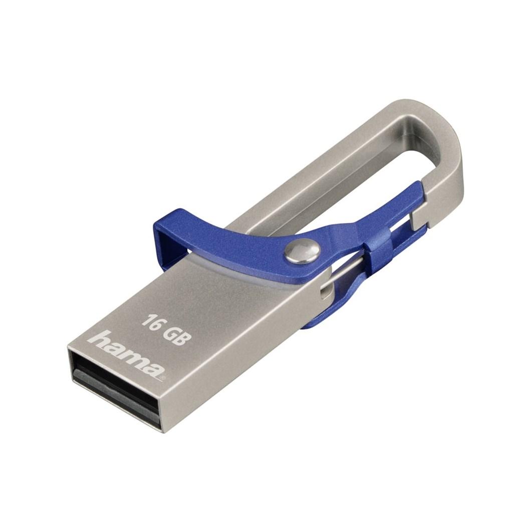 "Hama flashPen ""Hook-Style"" 16 GB 15 MB/s, modrá"