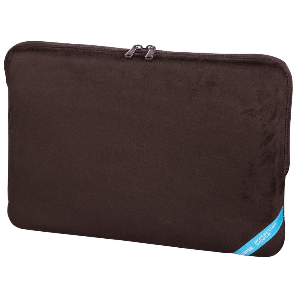"""Hama obal na notebook Velour, 40 cm (15.6""""), hnědá"""