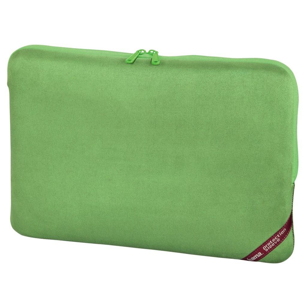 "Hama obal na notebook Velour, 40 cm (15.6""), zelená"