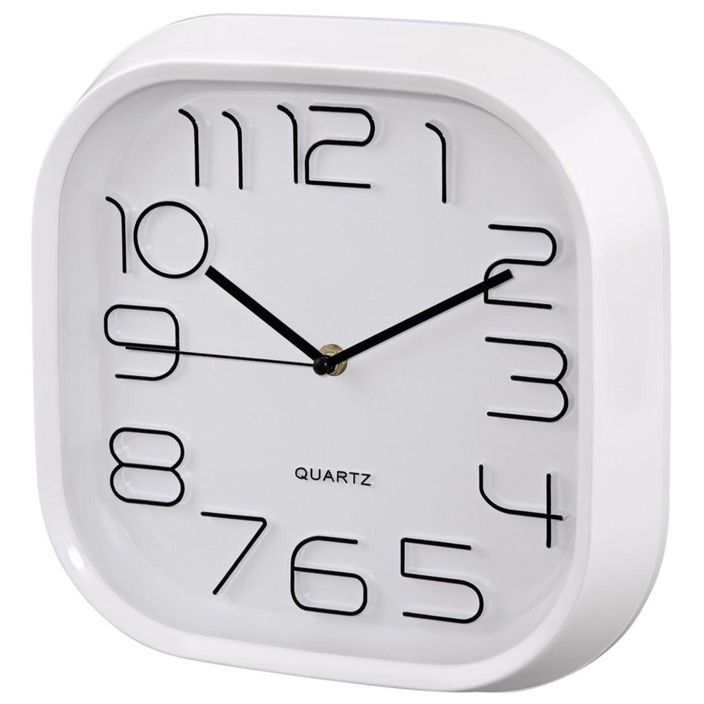 Hama nástěnné hodiny PG-280, tichý chod, bílé
