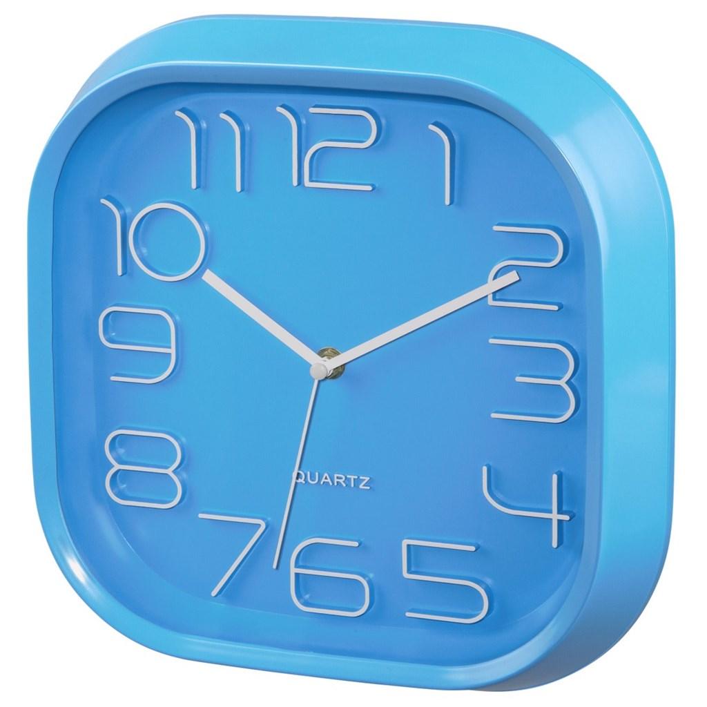 Hama nástěnné hodiny PG-280, tichý chod, modré