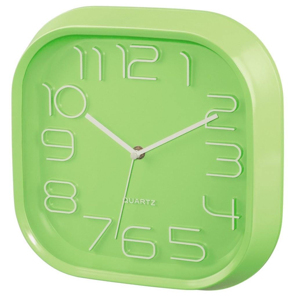 Hama nástěnné hodiny PG-280, tichý chod, zelené