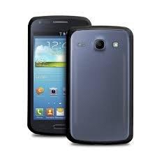 Puro kryt Clear pro Samsung Galaxy Core (i8260/i8262), průsvitná černá