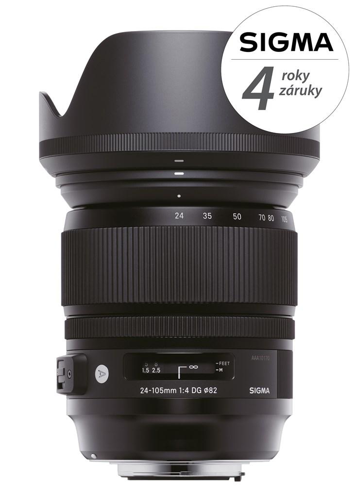 SIGMA 24-105/4 DG OS HSM ART Canon