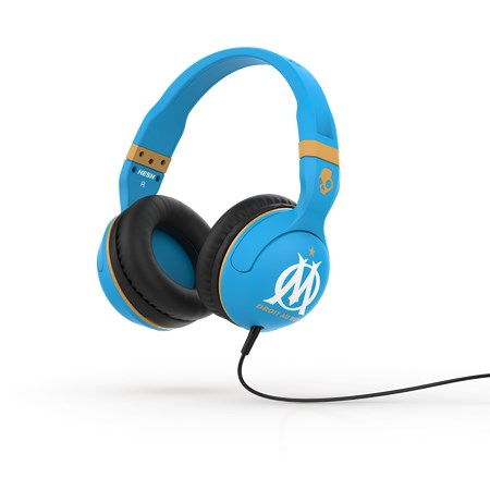 Skullcandy HESH 2.0 OLYMPIQUE MARSEILLE Blue/Gold Mic1