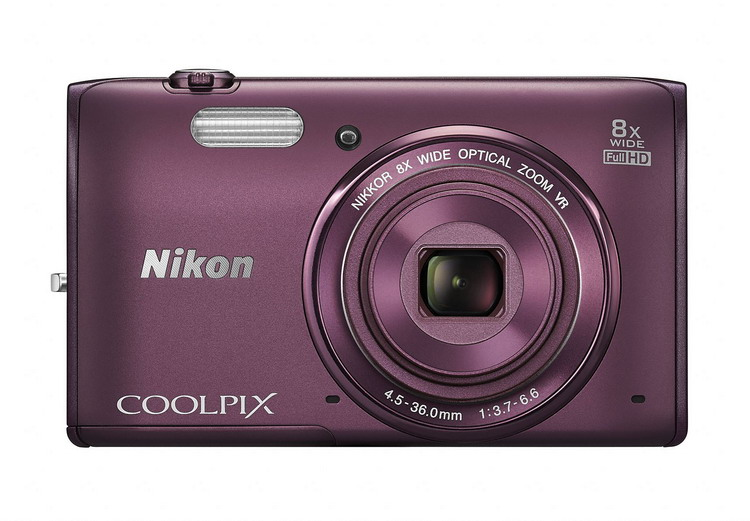 NIKON Coolpix S5300 švestka