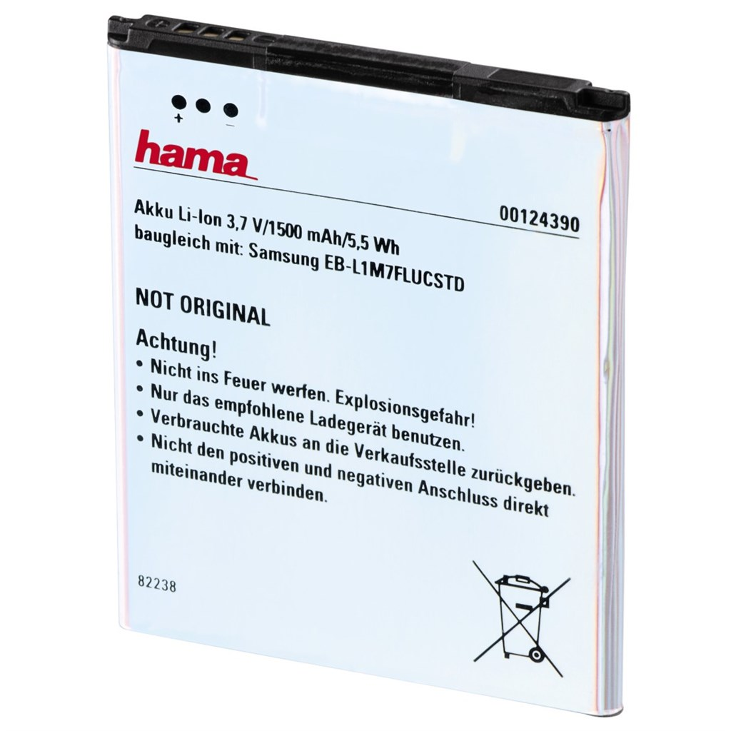 Hama náhradní baterie, ekvivalent k Samsung EB-L1M7FLUCSTD
