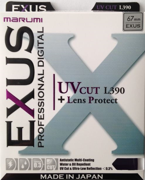 MARUMI UV cut (L390) EXUS 58mm