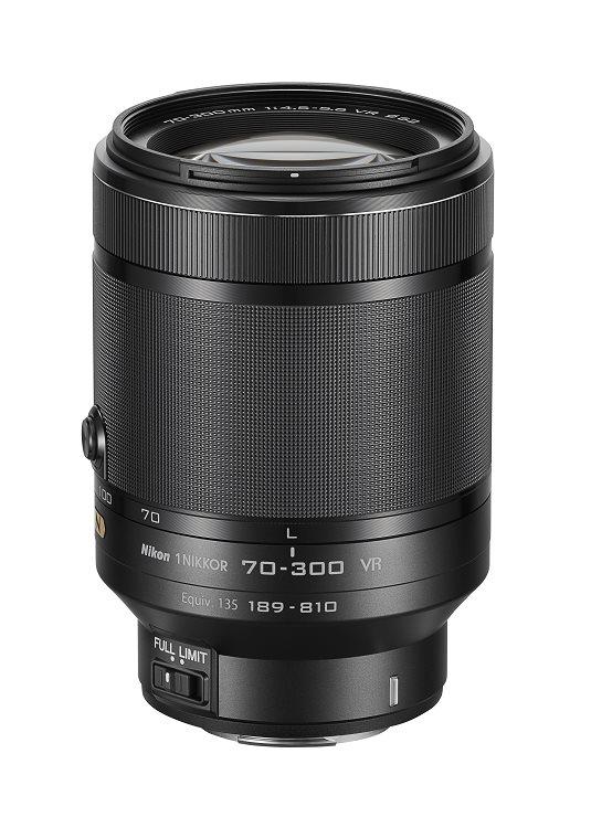 Nikon 1 Nikkor 70-300mm f/4.5-5.6 Black