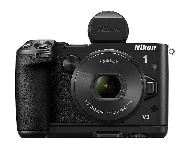 Nikon 1 V3 + 10-30mm + GR-N1010 + DF-N1000