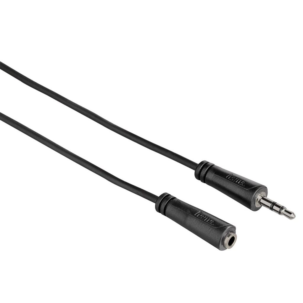 Hama prodlužovací audio kabel jack 3,5mm stereo, 1*, 3 m