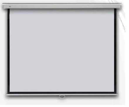 Profi manual 199x199 - projekční plátno zeď manuální