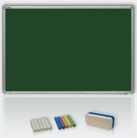 Magneticko-keramická křídová tabule ALU23 120x90cm