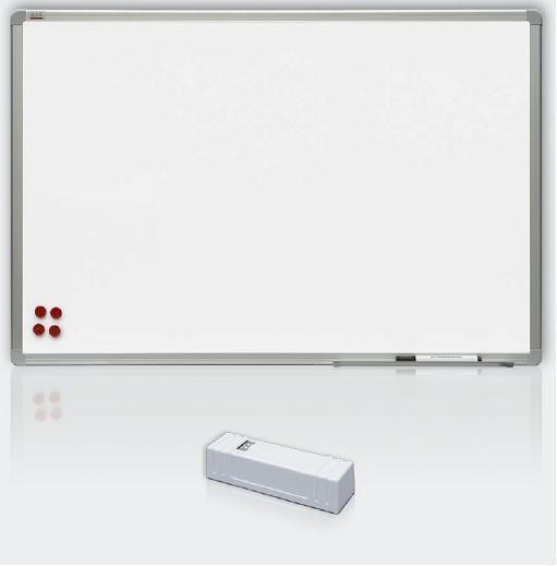 Magnetické tabule Premium, rám ALU23, 120x240cm