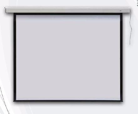 Elektrické promítací plátno na zeď 175x236 cm