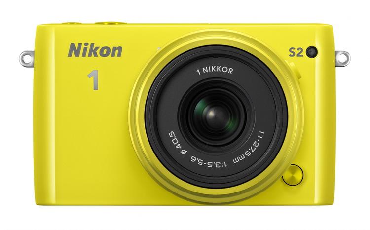 Nikon 1 S2 + 11-27.5mm žlutý